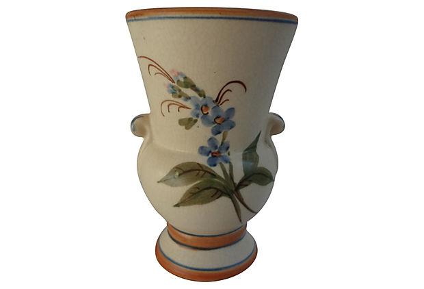 1927 33 Weller Bonito Vase Billy Blue Eye Pottery Paintings