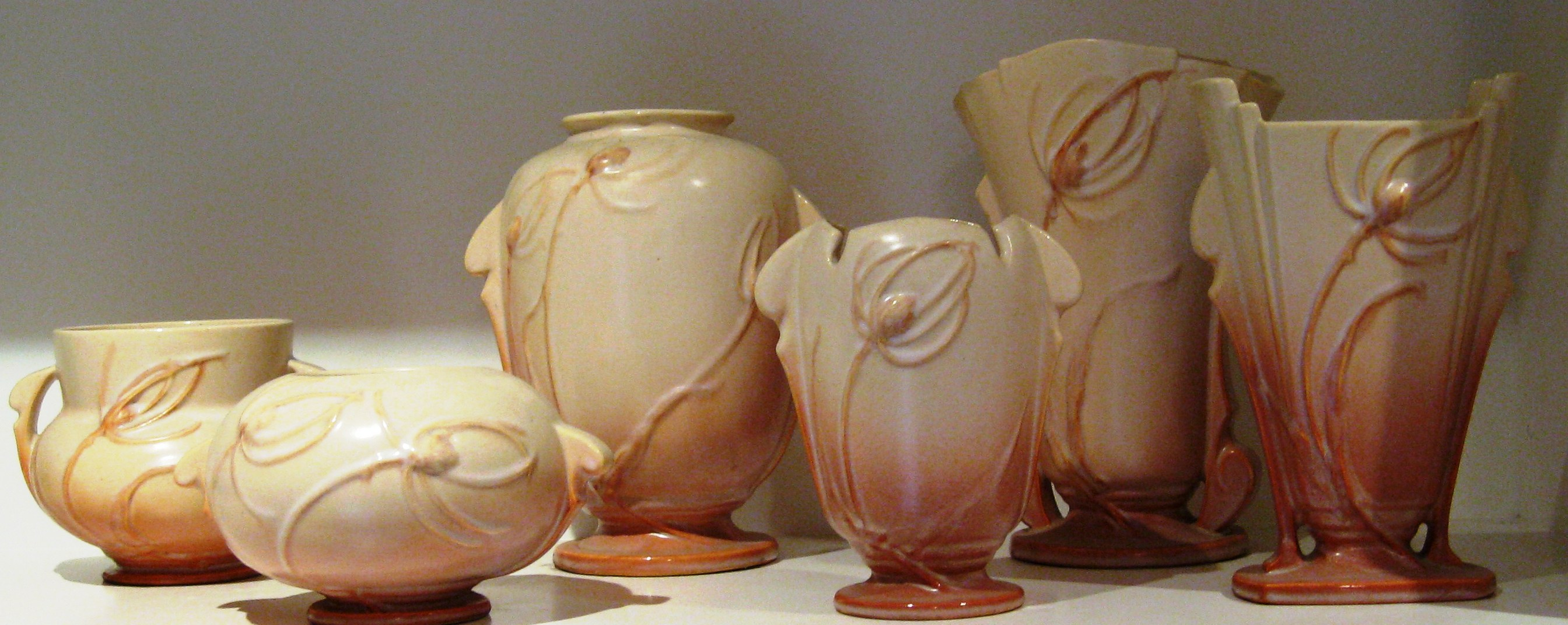 Mccoy fever art pottery on pinterest mccoy pottery for Pottery patterns